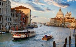 Vervoer van Venetië Stock Foto's