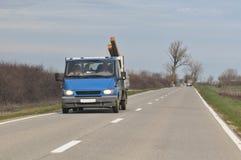 Vervoer van zware lading royalty-vrije stock afbeelding