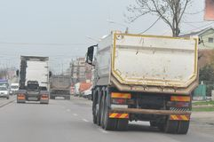 Vervoer van zware lading royalty-vrije stock afbeeldingen