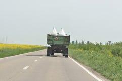 Vervoer van zware lading stock foto's