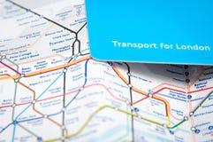 Vervoerkaart Royalty-vrije Stock Afbeelding