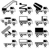 vervoers symbolen Stock Afbeeldingen