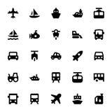 Vervoers Vectorpictogrammen 2 Royalty-vrije Stock Afbeeldingen