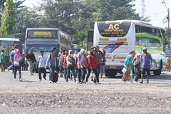 Vervoerssystemen Indonesië Royalty-vrije Stock Fotografie