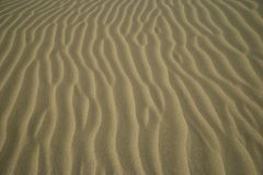 Vervollkommnen Sie fehlerlose Beschaffenheit von Sanddünen am Strand Lizenzfreie Stockbilder