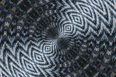 Vervormd Abstract Patroon Royalty-vrije Stock Afbeeldingen