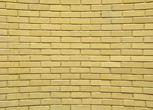 Vervormde Bakstenen muur Royalty-vrije Stock Fotografie