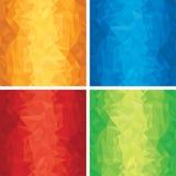 Vervormde Texturen Stock Foto's