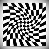 Vervormingsgevolgen voor diverse patronen Geometrische misvormde textu stock illustratie