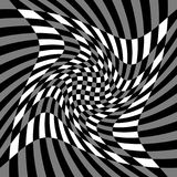 Vervormingsgevolgen voor diverse patronen Geometrische misvormde textu vector illustratie