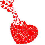 Vervul hart Royalty-vrije Stock Afbeelding