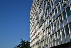 Verwaltungsgebäude der Zeiten der UDSSR lizenzfreie stockfotografie