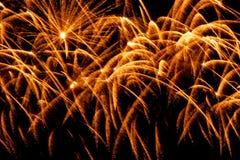 Verward ben van fonkelend vuurwerk royalty-vrije stock foto's