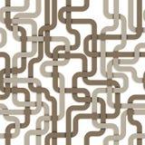 Verward verbindingen naadloos patroon Royalty-vrije Stock Foto