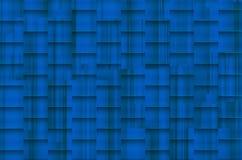 Verwarde blauwachtige achtergrond met architectonische schaduwen Stock Afbeeldingen