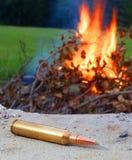 Verwarmde munitie Stock Foto