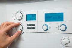 Verwarmende boiler