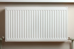 Verwarmende radiator Stock Foto's