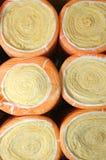Verwarmer in broodjes royalty-vrije stock fotografie