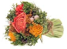 Verwelkter Blumenstrauß lizenzfreie stockfotos