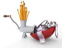 Verwenden Sie Ihr immagination und verdienen Sie Geld Lizenzfreie Stockfotos