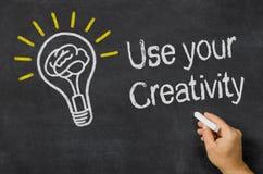 Verwenden Sie Ihre Kreativität Lizenzfreie Stockfotografie