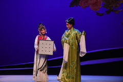 """Verwenden Sie Schach als Entschuldigung-Kunqu Oper """"the West-Chamberâ€- Lizenzfreie Stockfotos"""