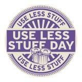 Verwenden Sie weniger Material-Tag vektor abbildung