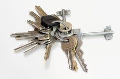 Verwendete Schlüssel Lizenzfreies Stockfoto