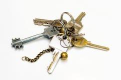 Verwendete Schlüssel Stockbild