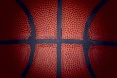 Verwendeter Basketball. Lizenzfreie Stockbilder