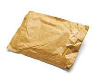Verwendetes offenes Post des Postpaket-Umschlags Kasten Lizenzfreies Stockfoto