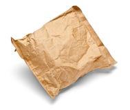 Verwendetes offenes Post des Postpaket-Umschlags Kasten Stockbild