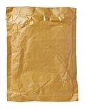 Verwendetes offenes Post des Postpaket-Umschlags Kasten Stockbilder