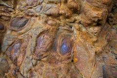 Verwering van graniet royalty-vrije stock foto