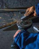 Verwerking van metaalproducten Stock Fotografie