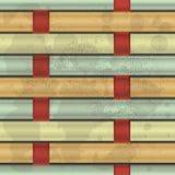 Verweven vezels stock illustratie