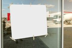 Verwezenlijking van het echte project, Witboek Stock Foto's