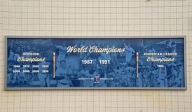 Verwezenlijkingen van de Minnesota Twins royalty-vrije stock afbeeldingen