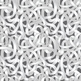 Verwickeltes nahtloses Muster der Wege Stockfoto