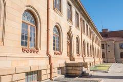 Verwickeltes Sandsteinin handarbeit machen des Berufungsgerichts Lizenzfreies Stockfoto