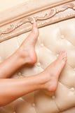 Verwijfde benen Royalty-vrije Stock Foto