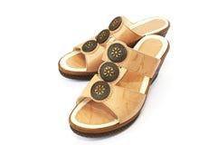 Verwijfde schoenen Stock Foto