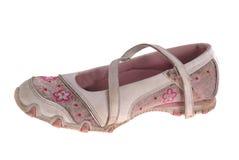 Verwijfde schoenen Royalty-vrije Stock Afbeeldingen