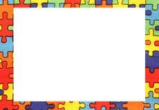 verwirren Sie Rahmen mit Raum, um Ihren Text zu schreiben Lizenzfreies Stockbild