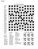 Verwirren Sie Seite mit Wortspiel und Bildrätsel lizenzfreie abbildung