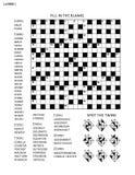 Verwirren Sie Seite mit Wortspiel und Bildrätsel vektor abbildung