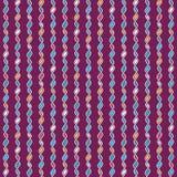 Verwirrtes gestricktes Muster Stockfoto