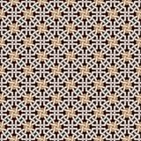 Verwirrtes modernes Muster lizenzfreie abbildung