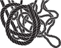 Verwirrtes Seil Lizenzfreies Stockbild